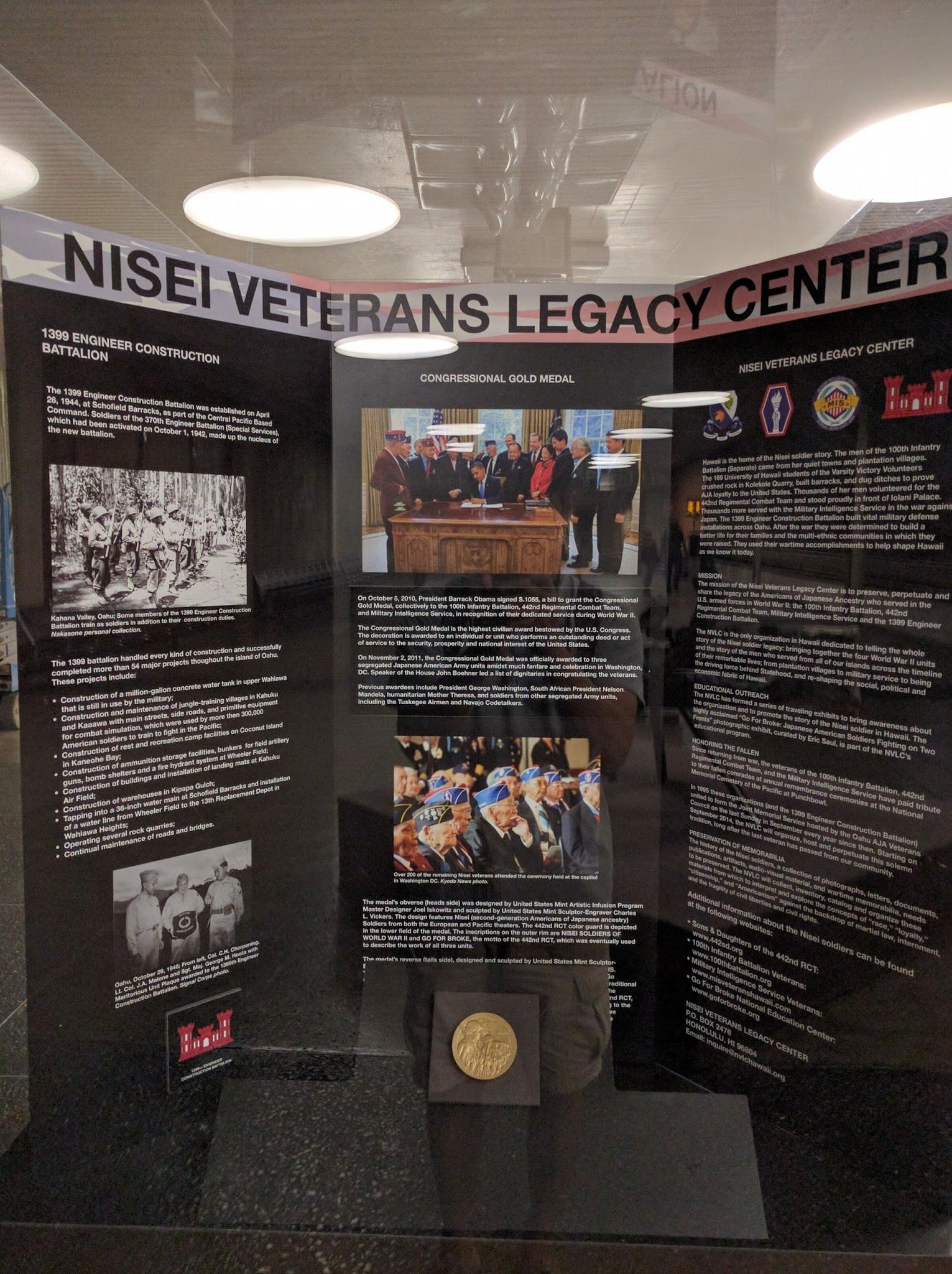 It's always nice to remember the contributions of Japanese Nisei veterans in military service, just as much as it is to remember that while they served in the military, there are others that were in internment camps: https://plus.google.com/+AlbertNakano/posts/6TEiQiCe956 https://goo.gl/hVQiXu