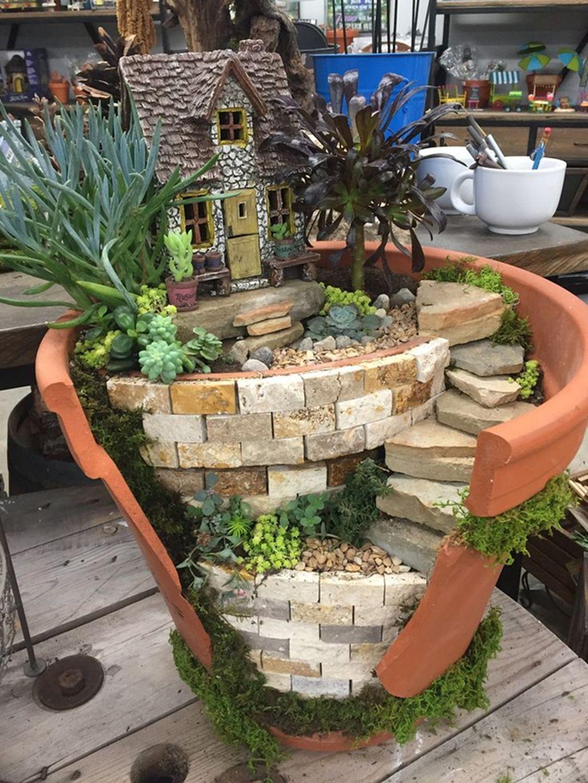 35 Easy And Beautiful Diy Fairy Garden Ideas For 400 x 300