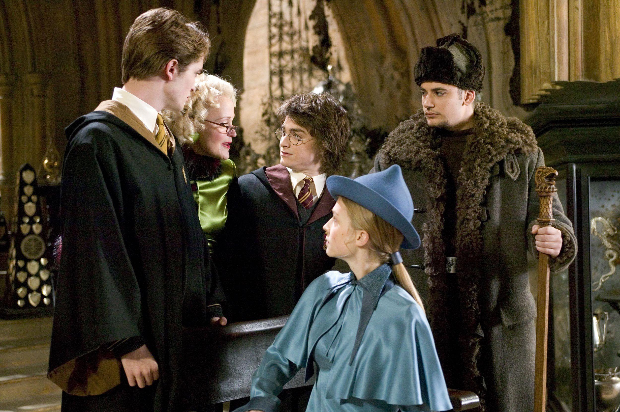 Harry... Rita Skeeter... Cedric... Fleur... Viktor
