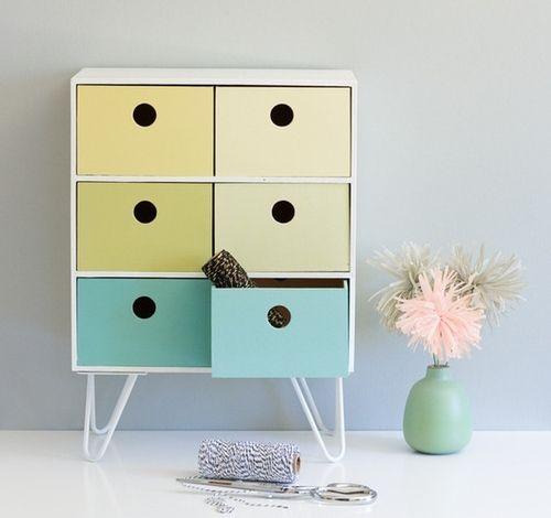 Ikea Moppe Mini Kommode als Standkommode