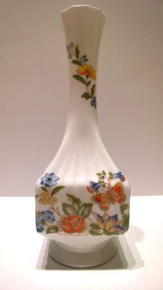Vintage E Bay English Bone China Cottage Garden Vase