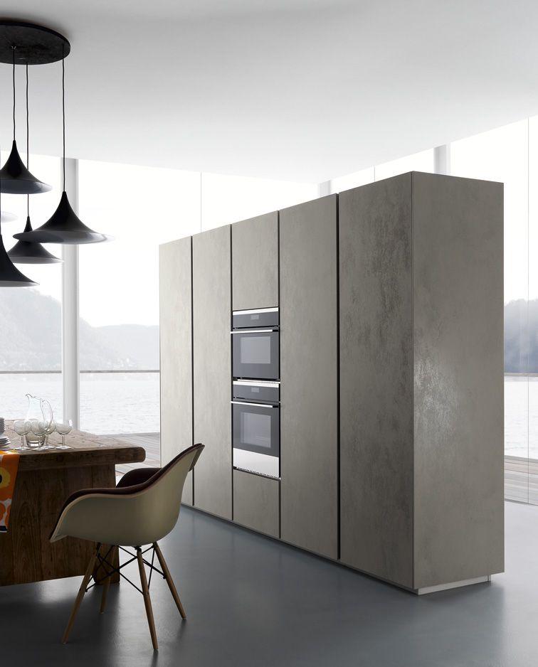 Zampieri - #Glasstone kitchen in pearl oxide \ - ernestomeda barrique