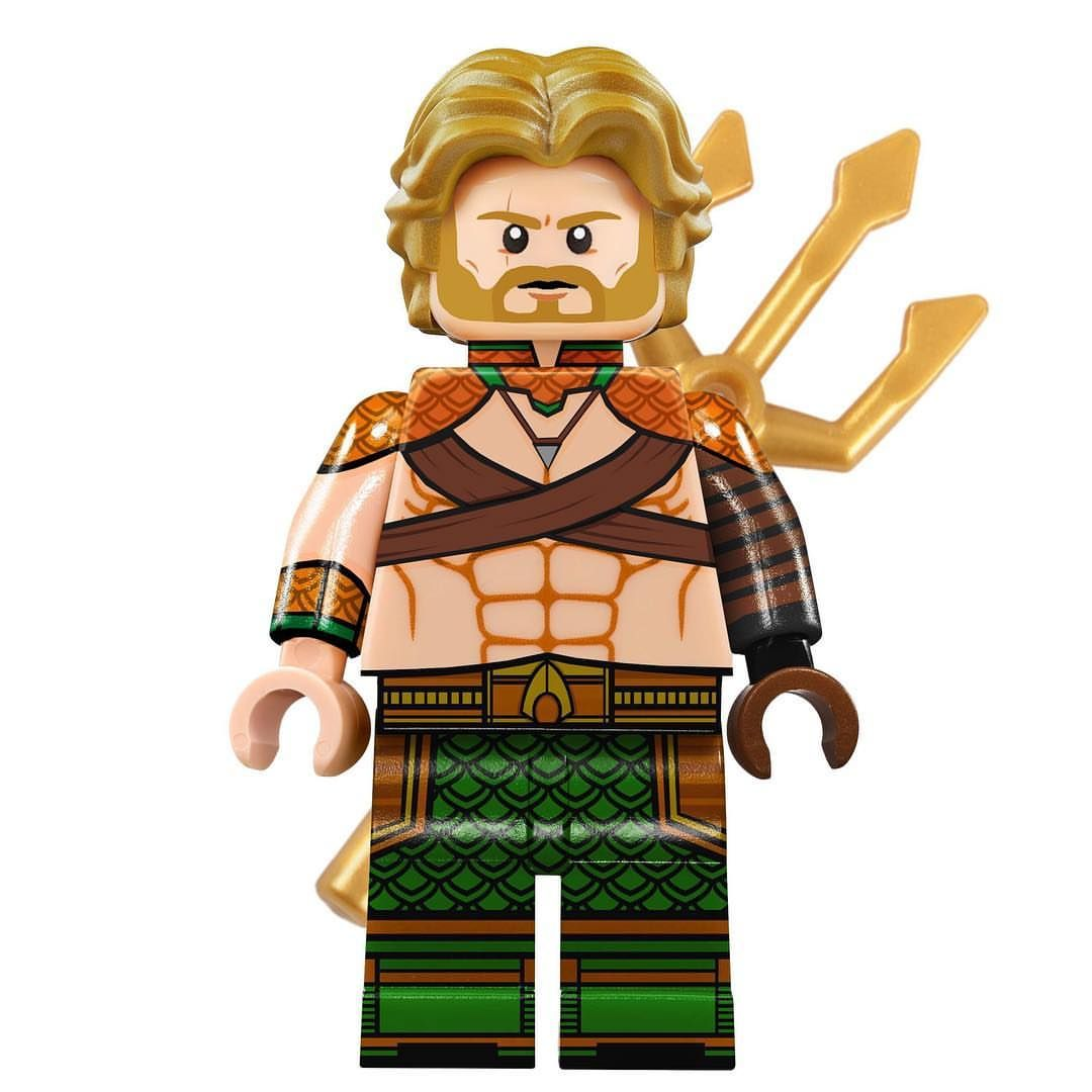 Lego Aquaman EDIT! Another member of the Justice League