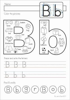 alphabet pages for back to school letters literacy worksheets math literacy preschool learning. Black Bedroom Furniture Sets. Home Design Ideas