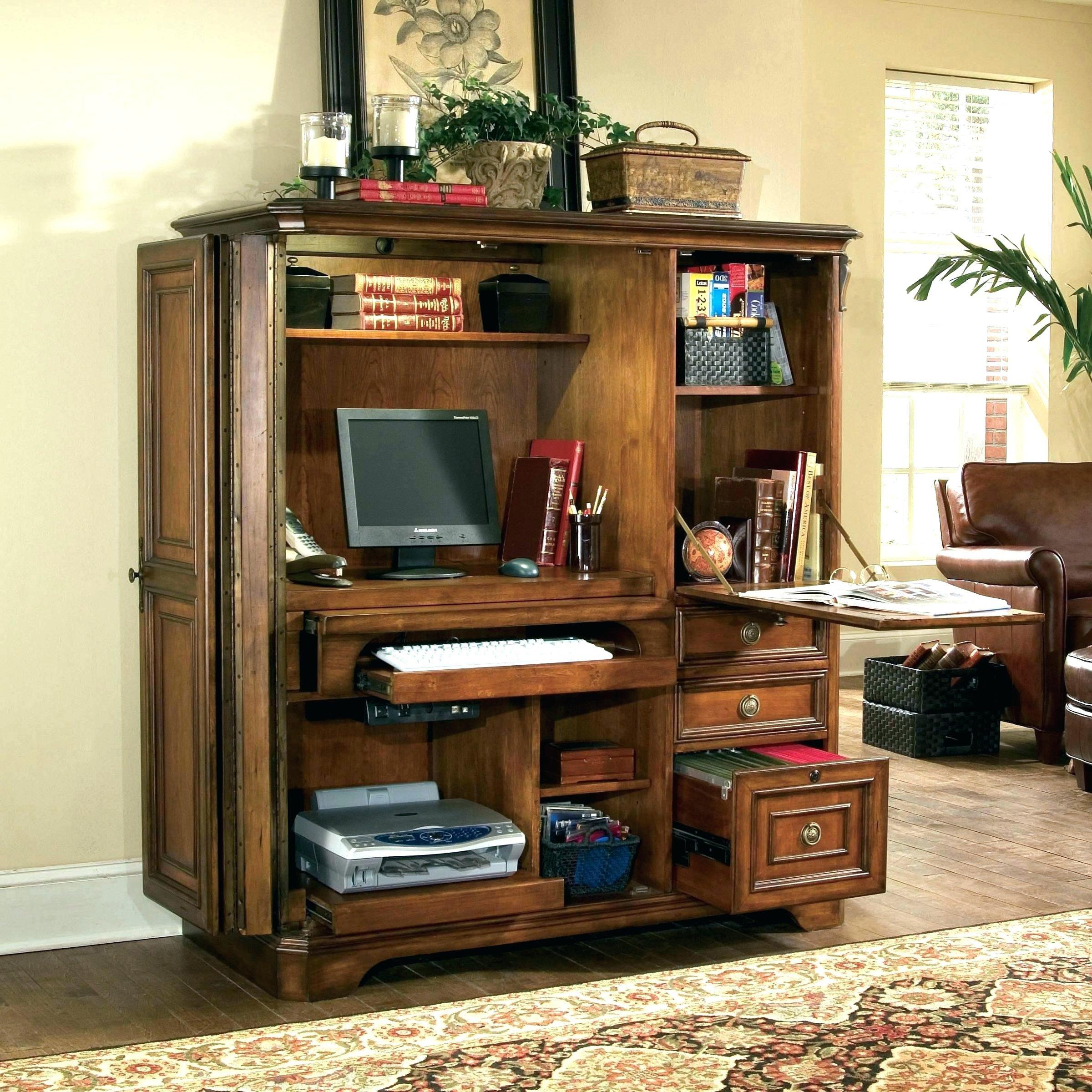 Incroyable Pottery Barn Computer Desk Armoire