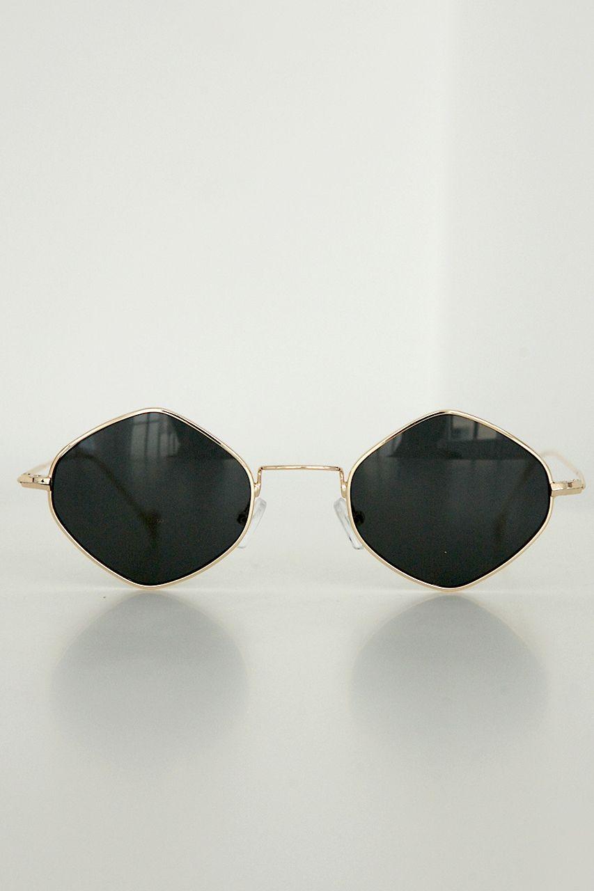 Fools Gold Sunglasses // Black - Verge Girl