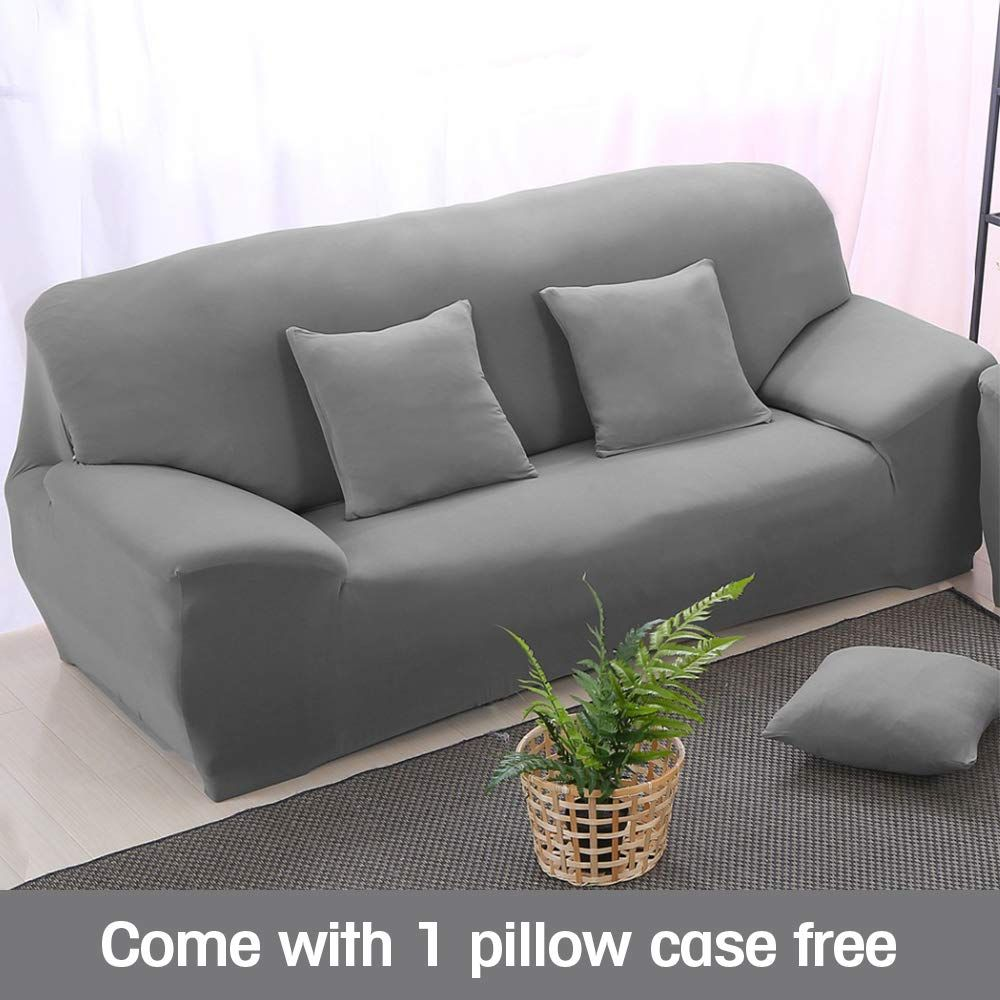 Boshen Stretch Seat Chair Covers Couch Slipcover Sofa Loveseat Cover 9 Colors 4 For 1 2 3 4 Four People Sof Grey Couch Covers Slipcovers For Chairs Sofa Covers