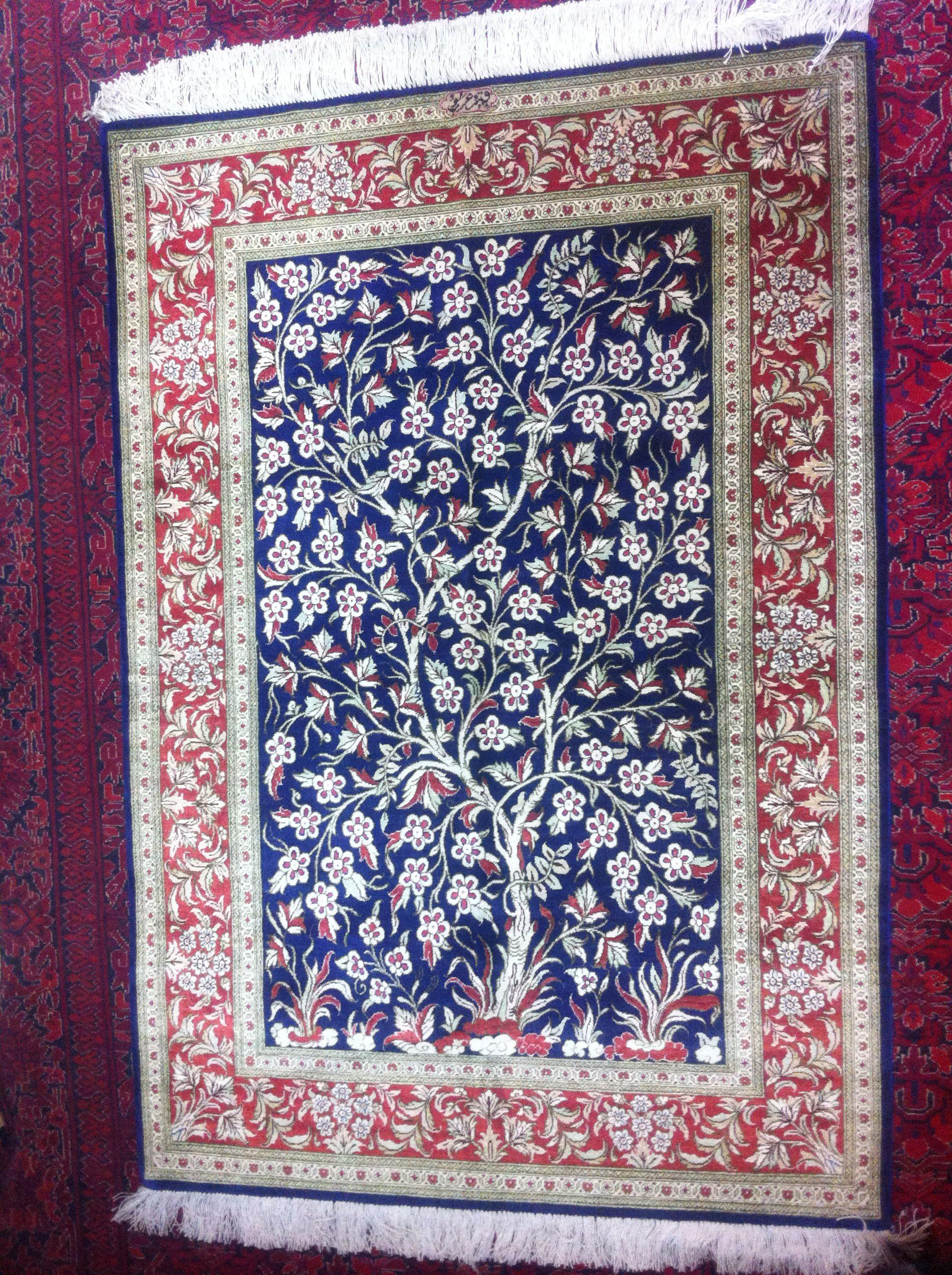 Image Result For Qom Tree Of Life Signature Silk Royal Blue