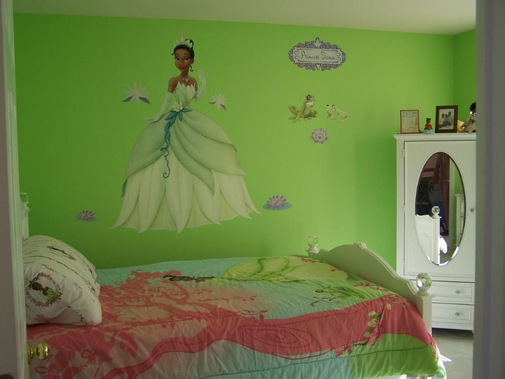 Princess And The Frog Bedroom Decorations