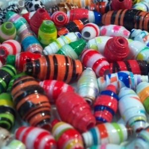 Mod Podge Paper Beads by Suzis Crafts