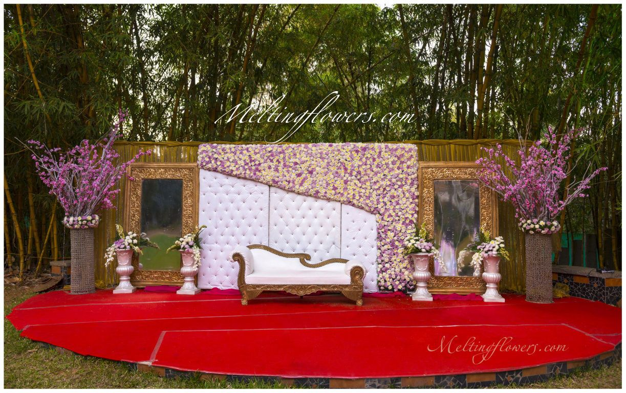 Reception Stage Decoration 3 Amazing Theme Wedding Decorations Ideas For The Swag Couple