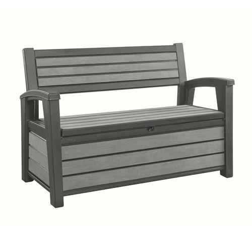 Garten Box keter brushed bench box jetzt bestellen unter https moebel