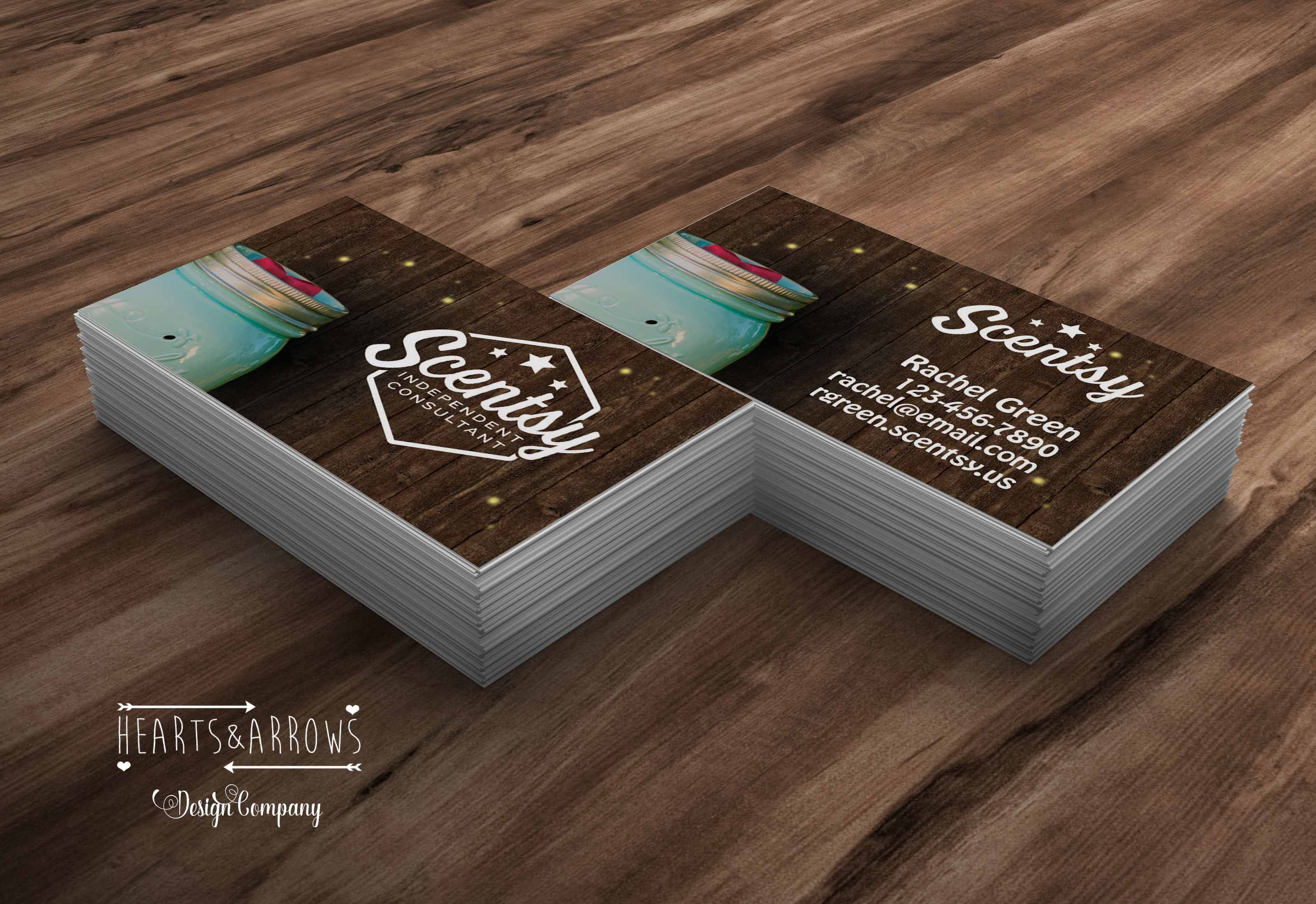 Chasing Fireflies Scentsy Business Cards by Hearts&Arrows Design Co ...