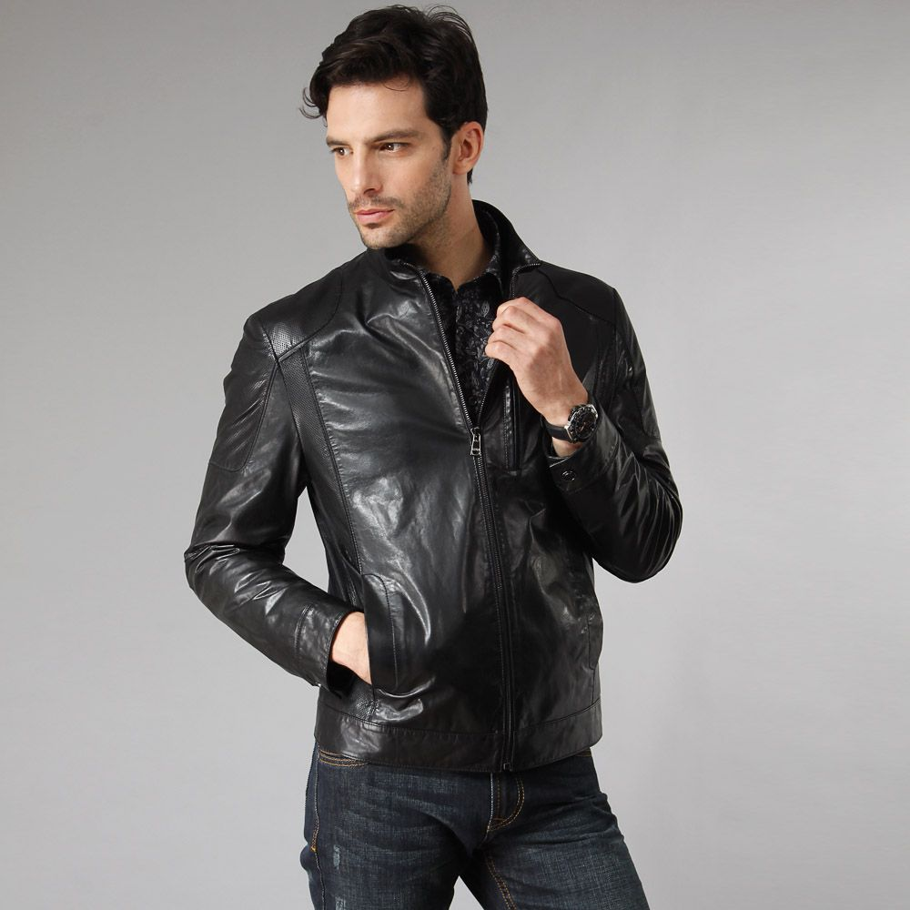 fashion-new-Men-s-genuine-leather-jacket- | Leather Jacket Men ...