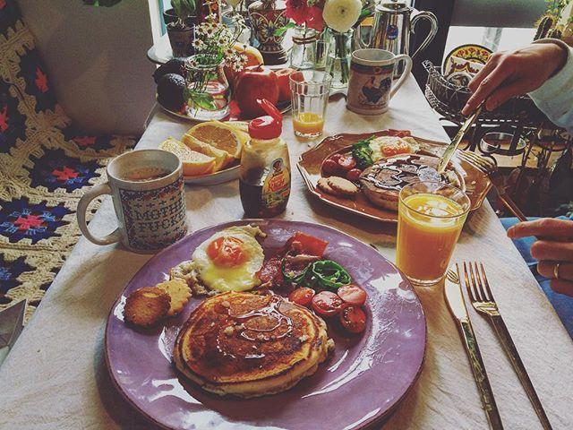 今日はゲンの誕生日✨ #goodmorning #breakfast  #saturday #birthday