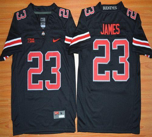 new product 60605 14b3e Youth Ohio State Buckeyes Lebron James 23 NCAA Football ...