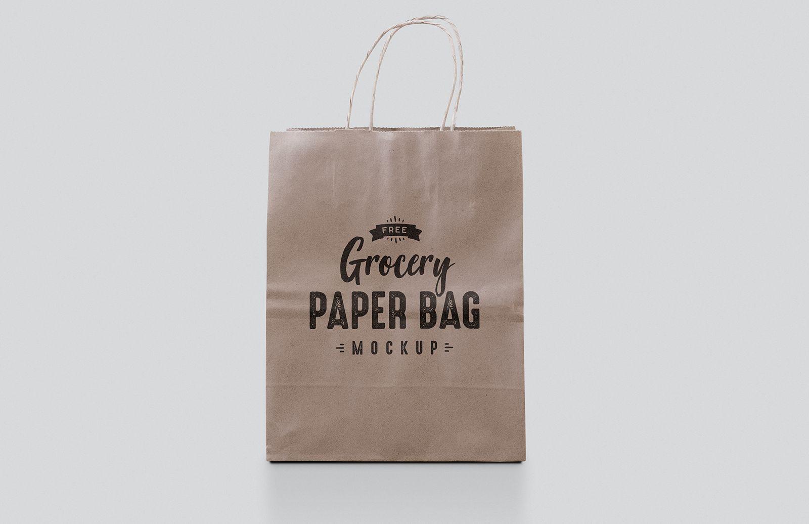 Download Free Paper Bag Mockup Bag Mockup Paper Bag Free Paper