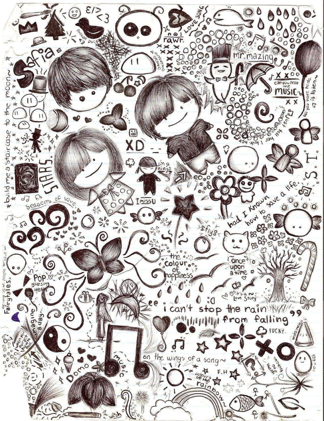 Random Drawings Doodles   sketchbooks   Pinterest   Doodle ...