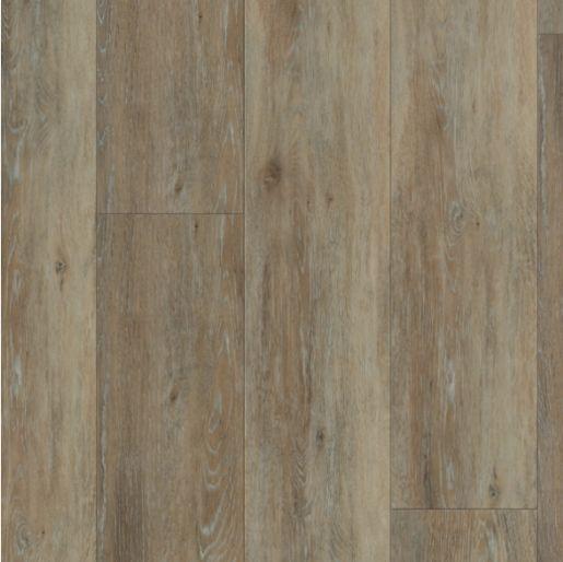Luxury Vinyl Tile Coretec Plus Blackstone Oak 8mm X 7 1 8 X 48 20 Mil Surface Layer Textured With Attached Cork Coretec Engineered Vinyl Plank Vinyl Plank