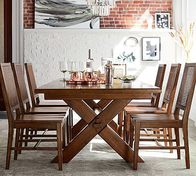 Toscana Extending Dining Table Seadrift Pottery Barn In 2020 Tuscan Decorating Dining Table Extendable Dining Table