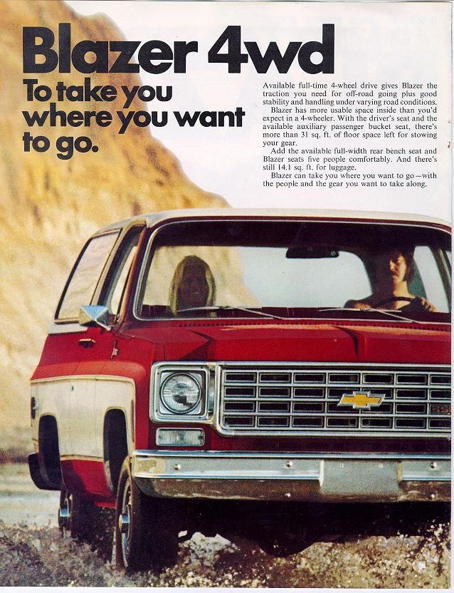 1975 Gmc 4x4 Pickup 1975 Chevrolet And Gmc Truck Brochures