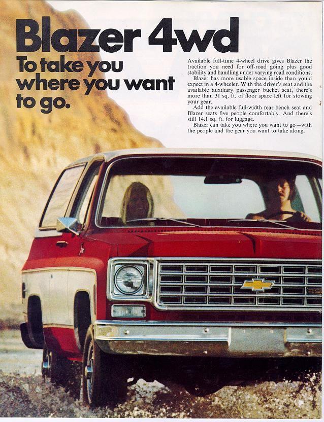 1975 Gmc 4x4 Pickup 1975 Chevrolet And Gmc Truck Brochures