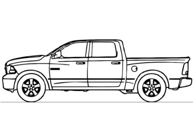 Chevy Truck Coloring Pages | Vehicles | Pinterest | Free printable ...