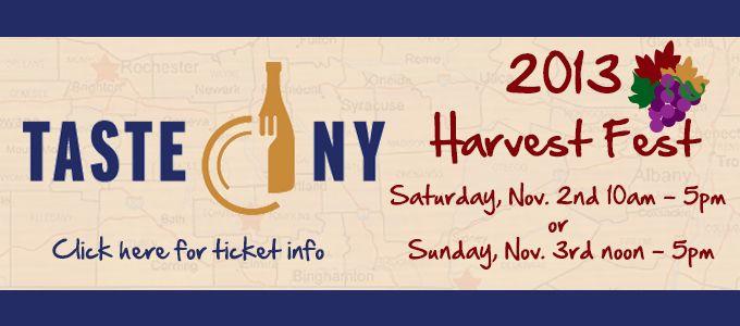 Taste of NY - Syracuse Nov 2nd-3rd 2013 at the NYS Fair ...