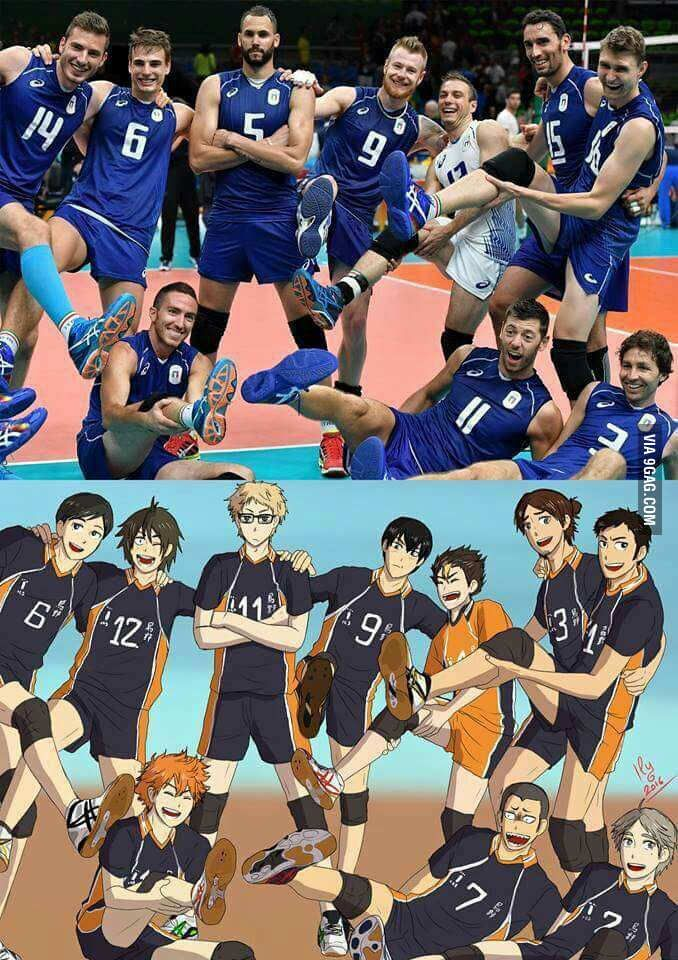I Present U The Italian Volleyball Team Haikyuu Anime Haikyuu Funny Haikyuu