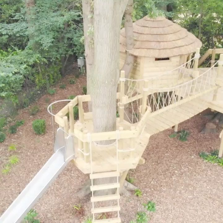 Rope Bridges and Treehouses
