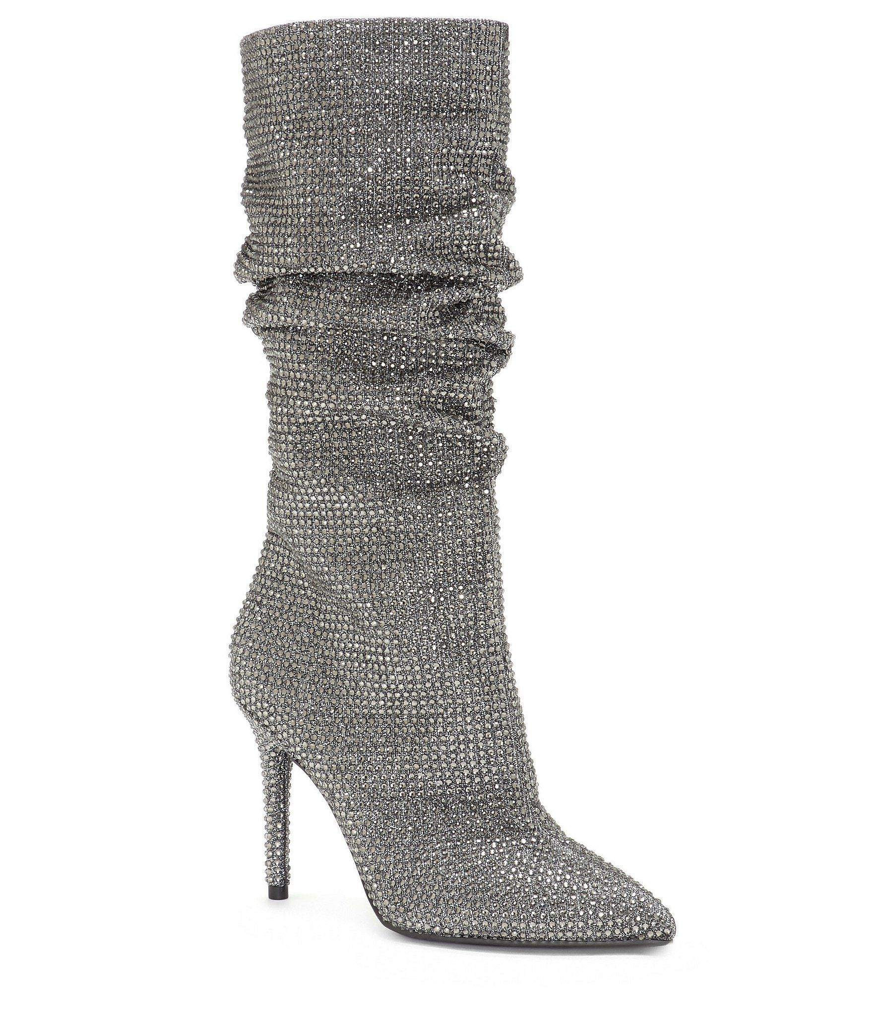 cb4c6d3c55798 Shop for Jessica Simpson Layzer Rhinestone Slouch Boots at Dillards.com.  Visit Dillards.com to find clothing, accessories, shoes, cosmetics & more.