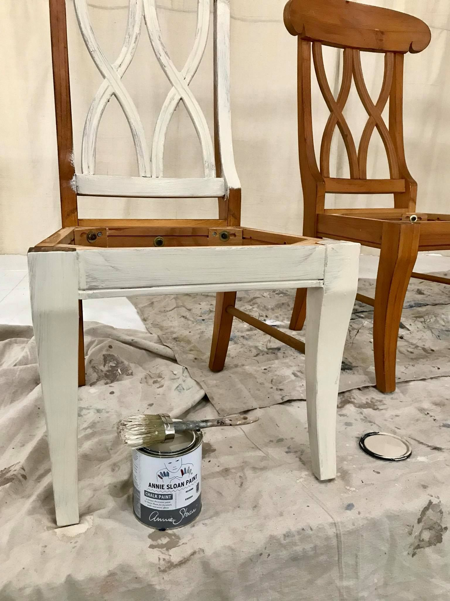 Going To Get Some Chair Projects Knocked Out On A Rainy Day Chalkpaint Chair Dining Chairs Chalk Paint