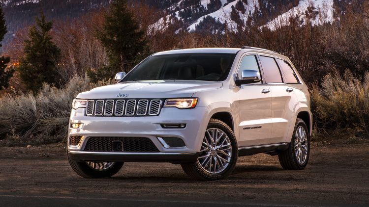 Jeep Grand Cherokee Trailhawk Headlines 2017 Model Year Updates
