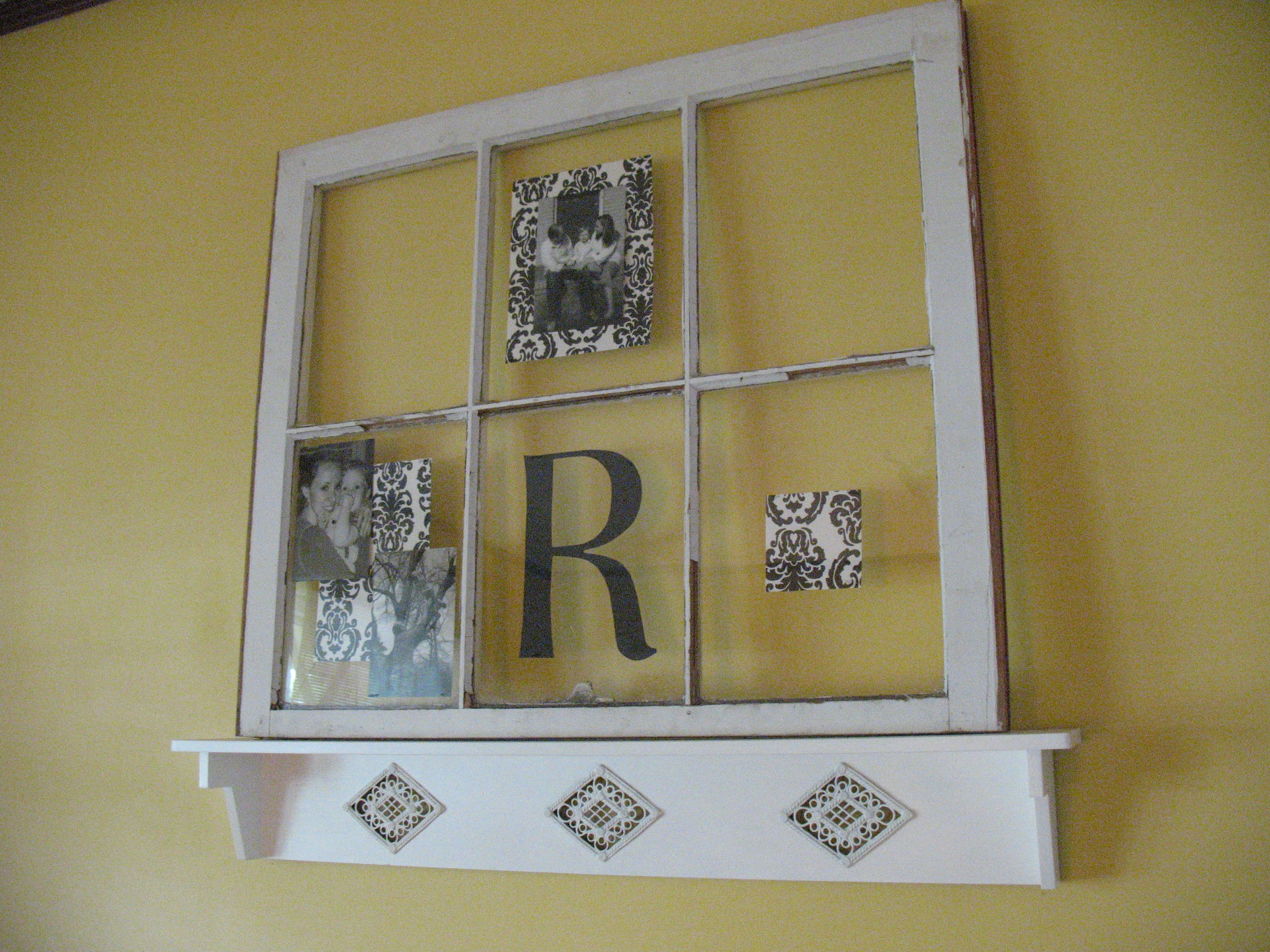Decorating with an old window window craft and decorating decorating with an old window amipublicfo Gallery