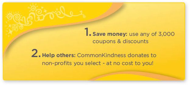 Common Kindness Coupon and Charity