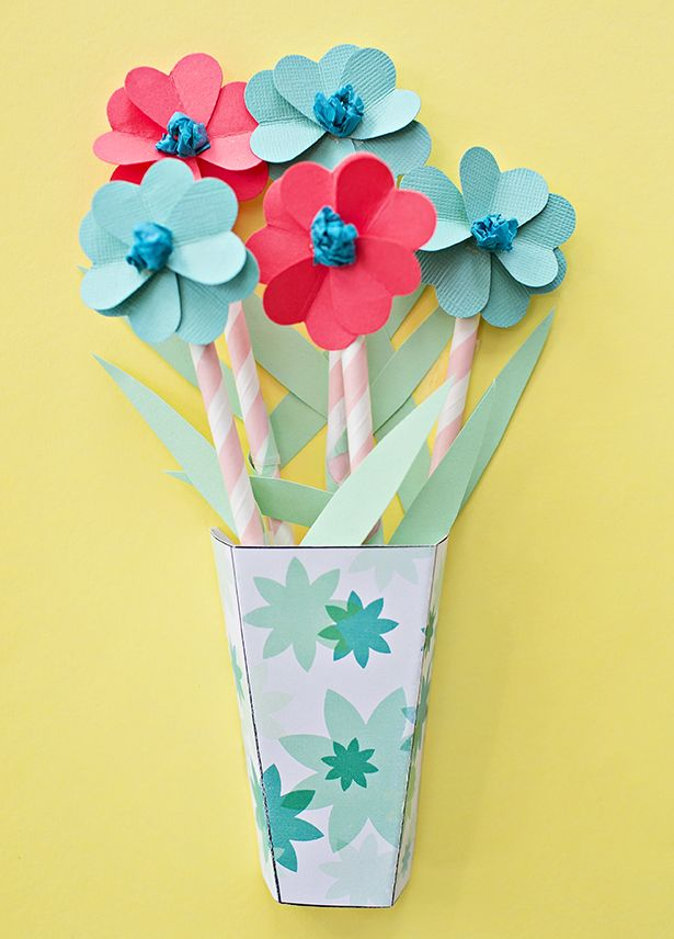 HOW TO MAKE 3D PAPER FLOWER BOUQUETS WITH VIDEO Ummesulma Paper