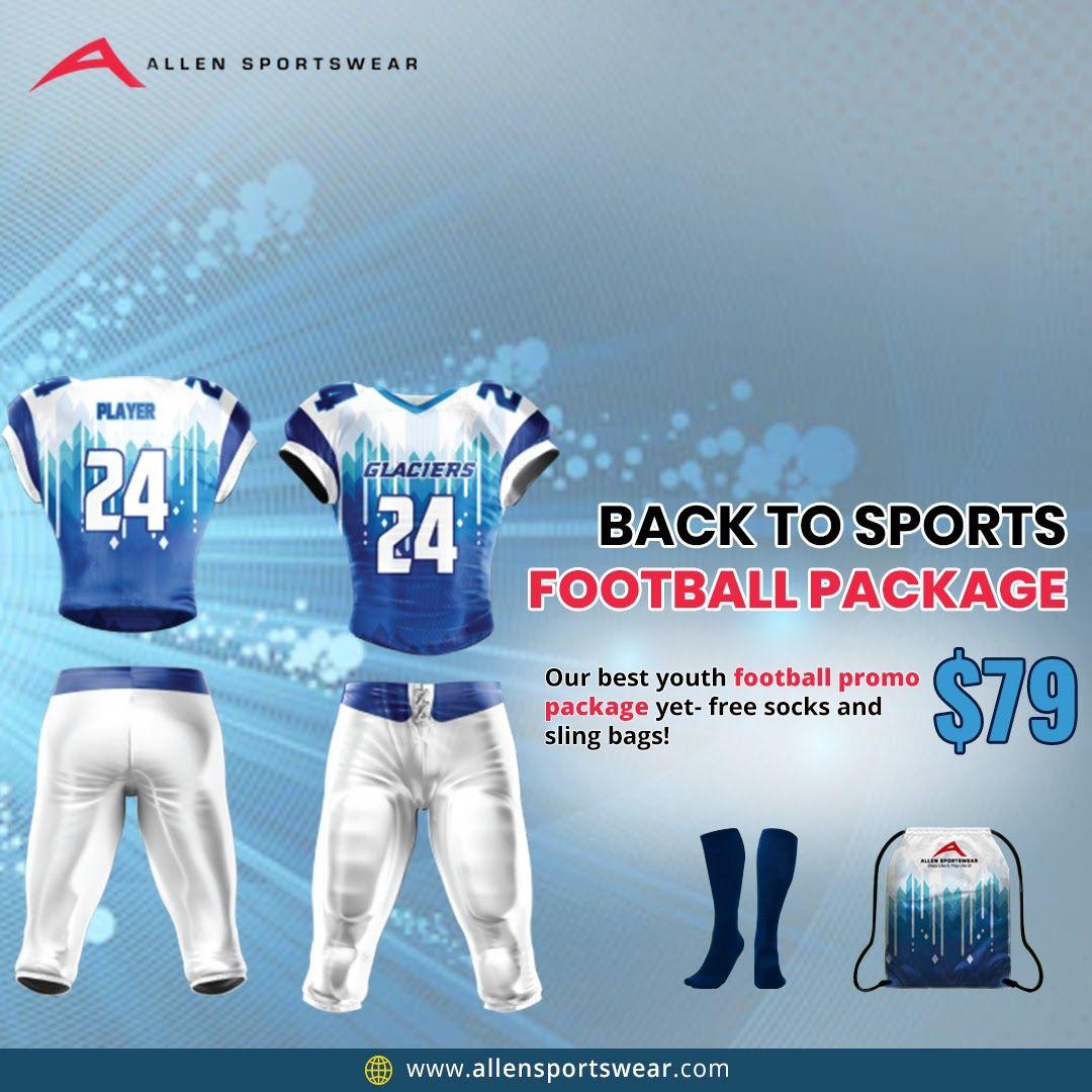 Allen sportswear football package in 2021 football