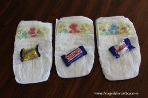 Beautiful Baby Shower Games: Dirty Diaper Game