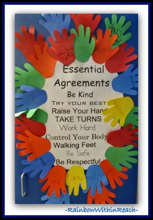 examples of classroom rules behavior expectation charts preschool ideas also rh pinterest
