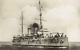 Pantserdekschip Gelderland, Koninklijke marine, 1900