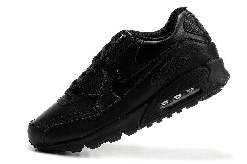 c2f6eb3440 ... mens nike air max 90 hyperfuse all black shoes