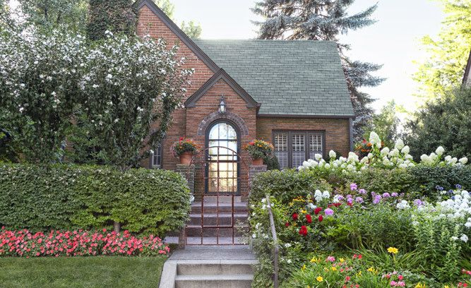Create A Welcoming Entry By Framing Your Front Door With Potted