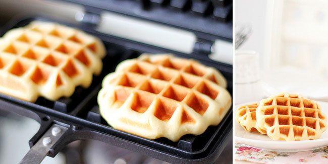 Waffle Original Kue Kering Kue Resep