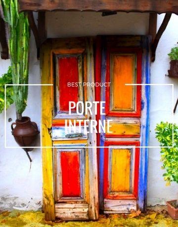 Le porte interne nuove moderne innovative colorate ....da amare | Le ...