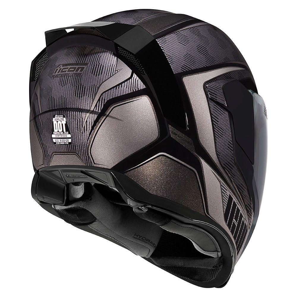 Raceflite Black Helmets Icon Motosports Ride Among