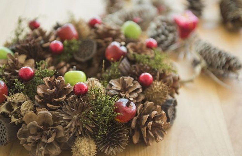 10 lindas coroas de Natal comestíveis... ou não!