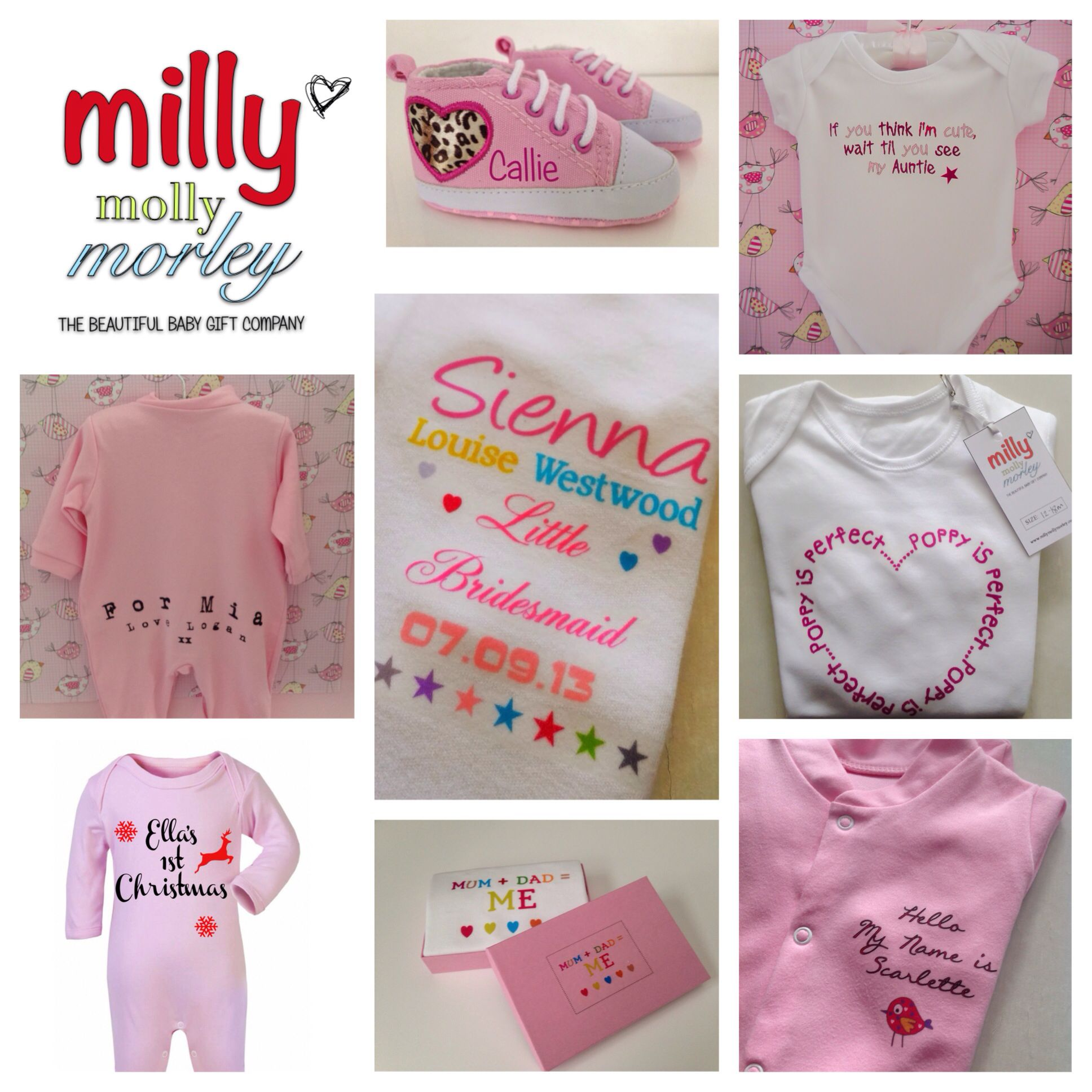 Millymollymorley unique personalised baby gifts milly millymollymorley unique personalised baby gifts negle Image collections
