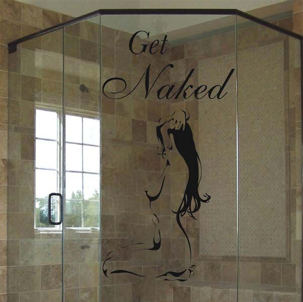 Superior Get Naked Bathroom Wall Decals, Bathtub Stickers, Wall Appliqué, Trendy Wall  Designs