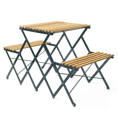 Foldable Bench-Table