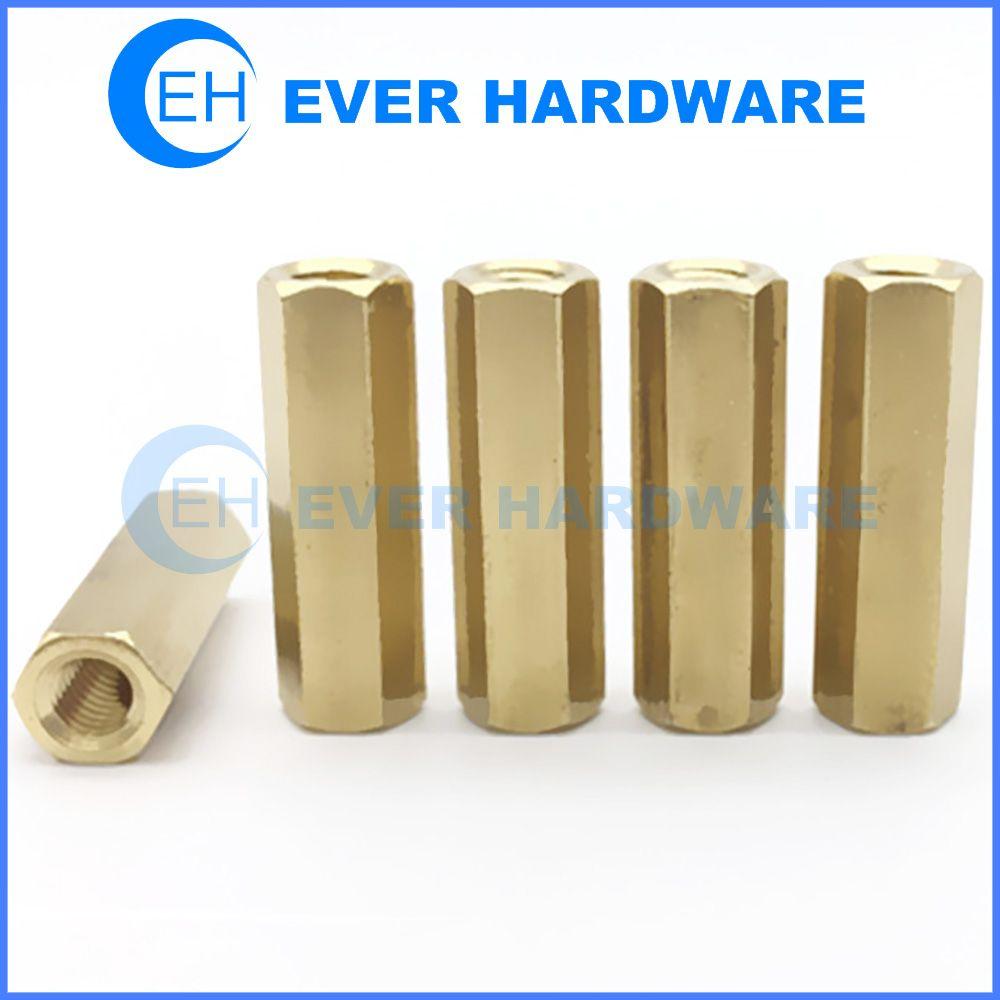 Female Threaded Hex Standoffs Pillar Rod Spacer Coupler Nut Pcb Parts Hex Pillars Rod